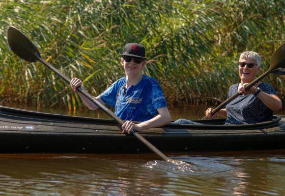kanoen is leuk voor jongeren