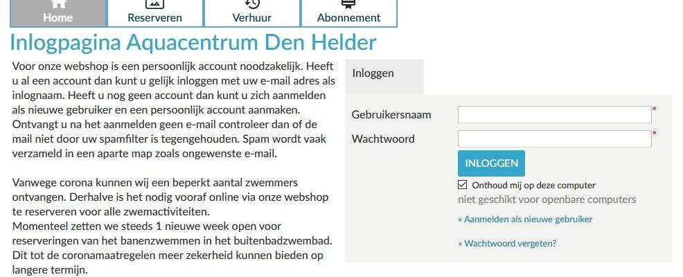 Webshop Aquacentrum Den Helder